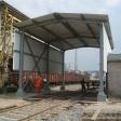 Przystosowanie punktów rozładunku żużla i węgla do wagonów typu Fals (samorozładowcze) na Oddziale Spedycji Kolejowej i Pakowni Cementu w Cementowni Warta