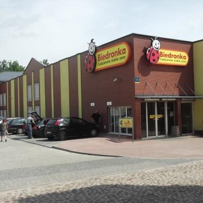 """Pawilon handlowy """"Biedronka"""", ul. Mostowa Częstochowa"""