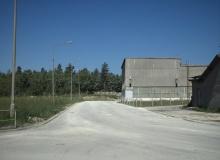Budowa drogi dojazdowej do łamacza A WII
