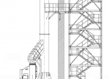 Projekt punktu - stanowiska rozładunku klinkieru w Cementowni Rudniki