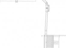 Instalacja wykorzystania powietrza nadmiarowego z chłodników klinkieru przy przemiale łupka