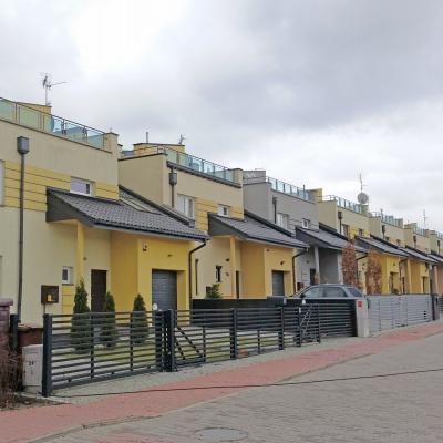 Osiedle budynków mieszkalnych jednorodzinnych, ul. Traugutta w Częstochowie