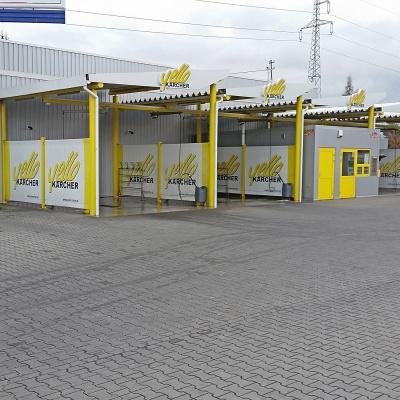 Myjnia samochodowa, ul. Rocha w Częstochowie