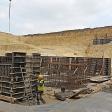 Budowa budynku łamacza kamienia wapiennego